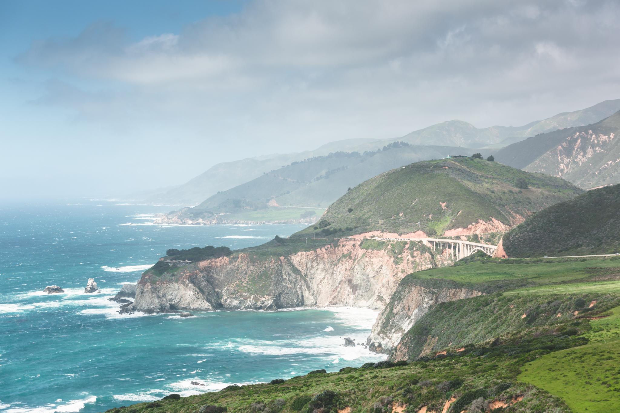 Highway 1:San Francisco -> Big Sur